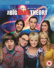 COFFRET BLU RAY - THE BIG BANG THEORY - SAISON 1 A 8 - IMPORT UK