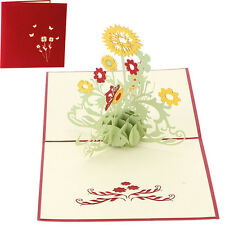 3D Pop Up Design Birthday Easter Mothers Day Greeting Card For A Lovely Mum