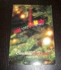 SC 2719 1992 CHRISTMAS ATM STAMP CEREMONY PROGRAM