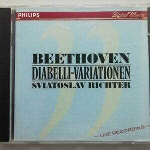 Beethoven: Diabelli Variations / Sviatoslav Richter / Philips CD 422 416-2