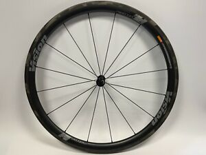 VISION - METRON 40 SL - CARBON FRONT WHEEL - TLR - CLINCHER - ROAD BIKE - USED -