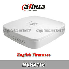 Dahua English NVR4116 16 Channel 16CH Smart 1U Network Video Recorder NVR