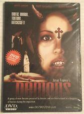 Demons/Demons 2 (DVD Double Feature) Brand New,sealed Jesus Franco Slim Case