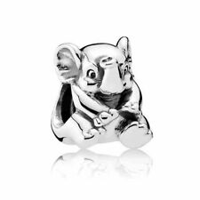 New Authentic Pandora Sterling Silver S925 Lucky Elephant Charm  #791902