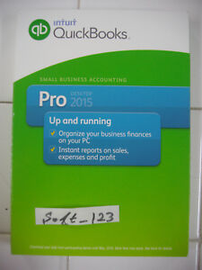 INTUIT QUICKBOOKS PRO 2015 DESKTOP FOR WINDOWS FULL RETAIL US VERSION =SEALED=
