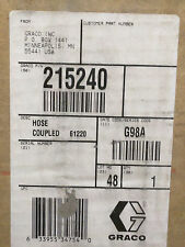 GRACO 215240 COUPLED HOSE NEW IN BOX