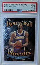 1998-99 Topps Roundball Royal Kobe Bryant #R18, Graded PSA 9 Mint, Pop 6! 23^
