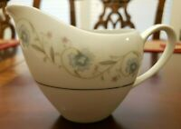 VINTAGE ENGLISH GARDEN # 1221 FINE CHINA JAPAN CREAMER PLATINUM TRIM