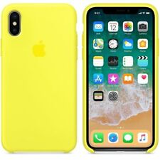 High Quality Original Silicone Case For Apple iPhone X iphone 10 Back Cover Skin