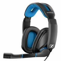 Sennheiser GSP 300 Black Headband Headsets NEW Black-Blue