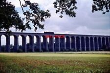 PHOTO  WELWYN VIADUCT ON THE EAST COAST MAIN LINE IN HERTFORDSHIRE A B1 CLASS 4-