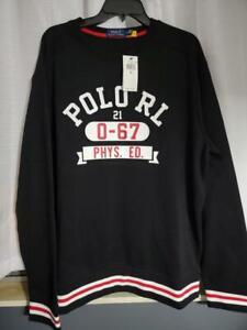 "NWT $125 Polo Ralph Lauren XL ""0-67 Phys. Ed"" Crew neck Sweatshirt Sweater"