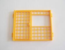 PLAYMOBIL (O2296) VETERINAIRE - Grille Orange & Porte Cage Oiseaux Clinique 4343