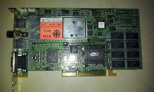 Vintage ATI All in wonder 128 (ATI Rage 128) AGP 2X with TV Tuner