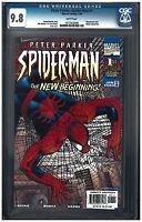 PETER PARKER: SPIDER-MAN #1 CGC 9.8 (1/99) Marvel Comics white pages