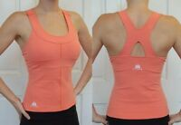 JIVANA* Designer Gym Fitness Yoga Sports Top Ladies womans XS,S,M,L,XL Coral *