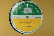 BBC 230 Transcription Disc Top Pops LED ZEPPELIN MOODY BLUES GEORGE HARRISON