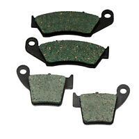 F+R Brake Pads For Honda CR 125 250 R (2002-2007) 2003 2004 05 06 CR125 CR250