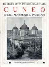CUNEO. CHIESE, MONUMENTI E PANORAMI – LE CENTO CITTÀ D'ITALIA ILLUSTRATE, STORIA