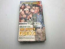 The Mighty Ducks (New Sealed VHS, 1993, Slipcover)