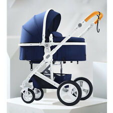 High end Baby Stroller Carriage Infant pram Travel buggy folding Pushchair cot