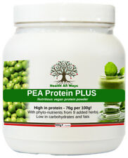 Vegan Pea Protein Powder Plus Meal Replacement Shake Superfood phyto-nutrients