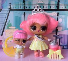 LOL Surprise HAIRGOALS Wave 2 - Prom Princess + Lils JR Prom Princess Dolls Set