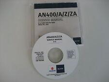 CD WERKSTATT HANDBUCH SERVICE Suzuki AN400 BURGMAN K7-L6 deutsch origin. NeuOvp