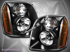 07-14 GMC Yukon/Yukon XL 1500 2500 OE Hybrid Replacement Headlights Black
