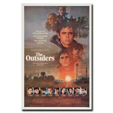 The Outsiders 24x36inch Classic 80's Movie Silk Poster Shop Room Decal