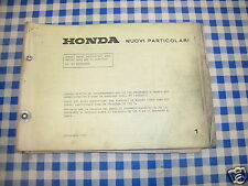BB Catálogo piezas de repuesto ACTUALIZACIÓN HONDA CB 125 S ENDURANCE ed. 1978