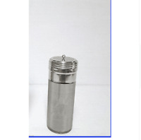 300 Micron Stainless Keg Dry Hopper Filter hoping Home Brew 70mm x 180mm Dry Hop