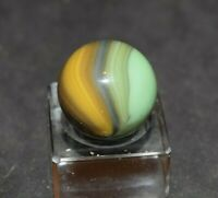 "Vintage Rare Multi-Color Master Sunburst Marble, Shooter Size .640=41/64"" Mint!"