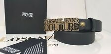 NEW CINTURA UNISEX 2020 UOMO/DONNA IN PELLE VERSACE JEANS COUTURE MADE IN ITALY