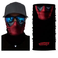 Deadpool Face Mask Sun Mask Neck Scarf Balaclava Headband Bandana Headwear UV