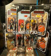 Star Wars Vintage Collection Retro THE MANDALORIAN WAVE 1 7 figures complete
