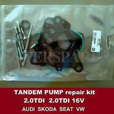 Essence Passez l'aspirateur en tandem POMPE Joint Kit Audi Vw Skoda Seat 2.0TDI