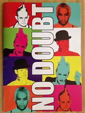 NO DOUBT Summer Tour 2009 Program Book Gwen Stefani Lots Of Photos L@@K WOW!!!