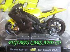 MOTO GP 1/18 YAMAHA YZR-M1 # 46 COLLECTION  ROSSI TEST SEPANG 2006