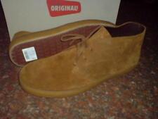Clarks Original Mens * PRESTON BOOTS ** COLA SUEDE ** UK 7 / true 7.5 / US 8.5 G