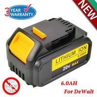 For DEWALT DCB200-2 DCB204 20V Max 6.0Ah 20Volt XR Lithium-Ion Battery Pack NEW