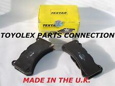NEW FACTORY LEXUS IS-F 08-14 04466-0W031 REAR OEM TEXTAR BRAKE PAD SET W/SHIMS