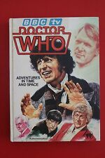 *COLLECTABLE* DOCTOR WHO - ADVENTURES IN TIME AND SPACE - Authorised Ed HC, 1981