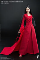 1/6 VERYCOOL China Ancient Female Red Dress Clothing Model  VCL-1003 F 12'' Body