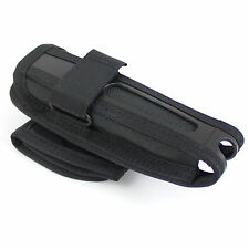 GK Pro Swiveling Rotating Angled Extendable Baton Nylon Belt Pouch Holder Black