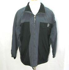 SNEAUX Men's (Size Large) Gray & Black Long Sleeve Winter Ski Jacket 100% Nylon