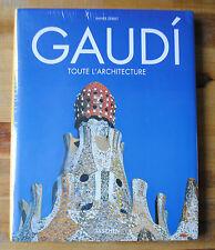 Livre GAUDI TOUTE L'ARCHITECTURE éd. TASCHEN NEUF VF