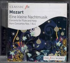 MOZART: FLUTE & HARP + HORN CONCERTOS 1 & 4 + EINE KLEINE NACHTMUSIK - CD (2008)