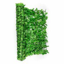 BISEN Light Green 1x3 m Artificial Ivy Leaf Garden Fence Screening Trellis Hedge