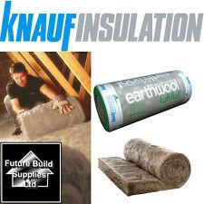 Knauf Earthwool Loft Roll Insulation 44 Combi Cut Various Sizes LOW MINIMUM QTY!